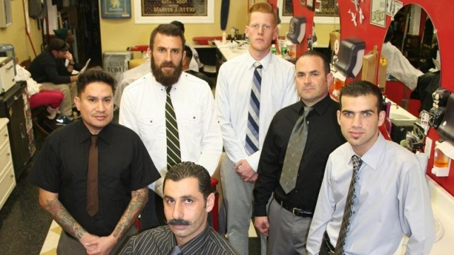 Barbershop Goes All-Out for Retro Feel