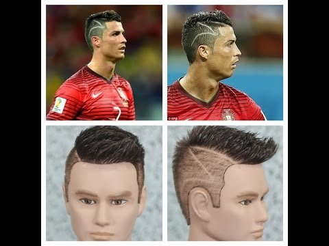 Learn Soccer Star Cristiano Ronaldos Snazzy And Touching Hairstyle