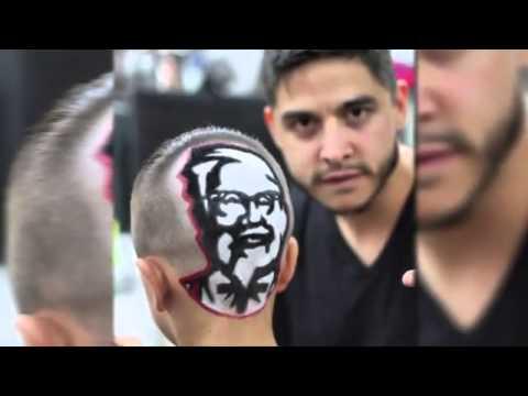 A Haircut That's… Finger-lickin' good?!