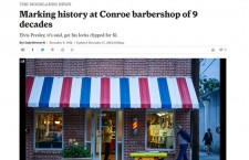 Congrats to the Longest Operating Barbershop in…  Montgomery County (TX)..!